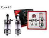 Kanger Pyrex Glass Protank 3 Kit Dual Coil with Only Clear Color