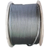 316 7X7 Stainless Steel Wire Rope, Dia 10mm ASTM Steel Wire Rope
