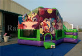 New Design Cheap Inflatable Inside out Round Theme Bouncy Castle