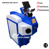 High-End Laser Spot Welding Machine for Gold Silver with CCD (Not all the similar machine can do)