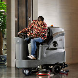 Lithium Battery Ride on Floor Scrubber/Riding Auto Scrubber/Rider Floor Scrubber for Property Management/Parking Lotshopping Mall/Hospital
