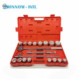 High Quality 21 Pieces Wrench Socket Sets Hand Tools for Truck Repair