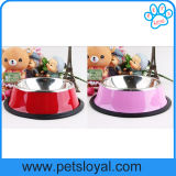 Factory Pet Dog Feeder Cheap Stainless Steel Pet Bowl