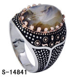 Fashion Jewelry Men Ring New Model 925 Silver CZ Ring.