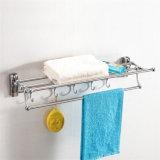 Fair Price Bathroom Accessory Stainless Steel Folding Towel Rack (821)