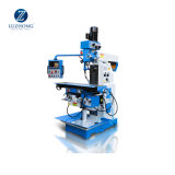 China Cheap Vertical Manual ZX6350A Metal Universal Milling And Drilling Machine