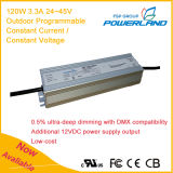 120W 3.3A Outdoor Programmable Constant Current LED Power Supply