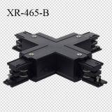 Universal 3 Phase Track X Connector for Lighting Track Rail (XR-465)