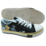 Hot Child Casual Canvas Shoes with Vulcanized Sole
