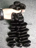 Brazilian Virgin Hair Loose Wave Deep Natural Color 3 Piece