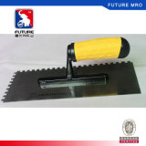 Stainless Steel Notch Plastering Trowel for Bricklaying