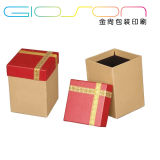 Kraft Paper Gift Packaging Box/ Candle Box Printing