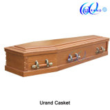 Factory Supply Professional Cheap Solid Wood Satin Coffin