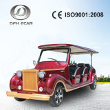 Ce Approved Aluminum Chassis Low Speed 8 Seats Tourist Sightseeing Car