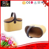 Luxury PU Leather Handle and Divider Christmas Cosmetic Gift Packs (8085)