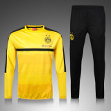 Yellow Sports Suit Tracksuit Ventilation Dry Moisture Wicking Sportswear for Warm up