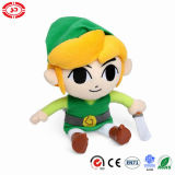 The Legend of Zelda Plush Toy with Sword Soilder Doll