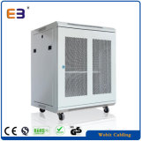 "Perforated Door Wall Mount Network Cabinet Used for 19"" Equipments"