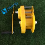 2600lbs Self Lock Steel Wire Rope Hand Winch for Truck