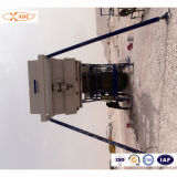 200ton/H Mobile Concrete Mixing Plant for Road Construction