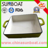 Carbon Steel Enamel Roasting Tray