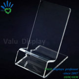 Clear Transparent Acrylic Display Stand Holder for Mobile Phone Retail Exhibition