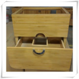 2015 Natural Bamboo Storage Drawer