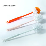 for Bathroom Cleaning Color Round Head PP Toilet Brush
