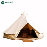5m Cotton Canvas Bell Tent Tipi Tents for Outdoor Play