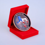 Customized Metal Soft Enamel Filled Copper Coin