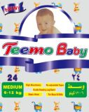 Teemo Baby Baby Diapers, Factory Own Brand Name, Good Quality Baby Nappies