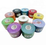 Medical Class I Products Properties Wholesale Custom Printed Muscle Care Kinesiology Sports Elastic Cotton Material Tape