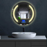 IP65 Grade LED Bathroom Mirror /Illuminated Bluetooth Mirror for Hotel