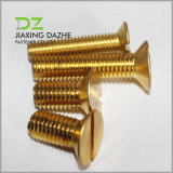 Brass Machine Screw Flat Head Bolt
