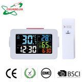 Multi-Function Indoor Outdoor Thermometer Wireless with Alarm Clock Hygrometer
