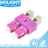 Optical Duplex Type Hybrid Om4 LC Female to Sc Male Adapter