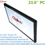 23.8inch Projected Capacitive Touch Screen Interactive Kiosk IR Pcap Tablet Computer Industrial PC