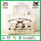 Promotional Cotton Canvas Cosmetic Bag with Zipper