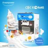 Op130 Full Automatic Table Top Soft Ice Cream Machine, Automatic Soft Ice Cream Vending Machine