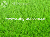 60mm Landscaping Artificial Grass for Recreation / Leisure with Six Tones (SUNQ-HY00172)
