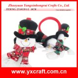 Christmas Decoration (ZY14Y39-1-2 18CM) Christmas Snowman Headband Party Items