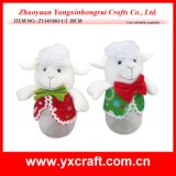 Christmas Decoration (ZY14Y683-1-2) Christmas Holiday Sheep christmas Gift