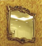 Factory European Style Classic PU Mirror Frame (K1013)