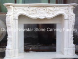 Cheap Marble Fireplace in Stock