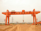40ton Marble Granite Hook Gantry Crane for Lifting Stone Yard