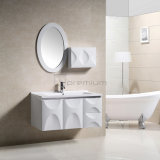 White Morden PVC Wall Hung Basin with Bathroom Furniture
