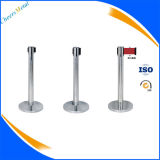 Belt Stanchion Strap Barrier Crowd Control Pole Queue Stand