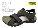 Three Colors PU Men Size Sandal Shoes