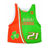 Custom Dye Sublimation Lacrosse Jerseys Lacrosse Shirts Pinnie with Your Logo