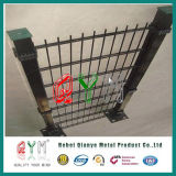 Qym-School / Sports Fileds Double Wire Mesh Fence